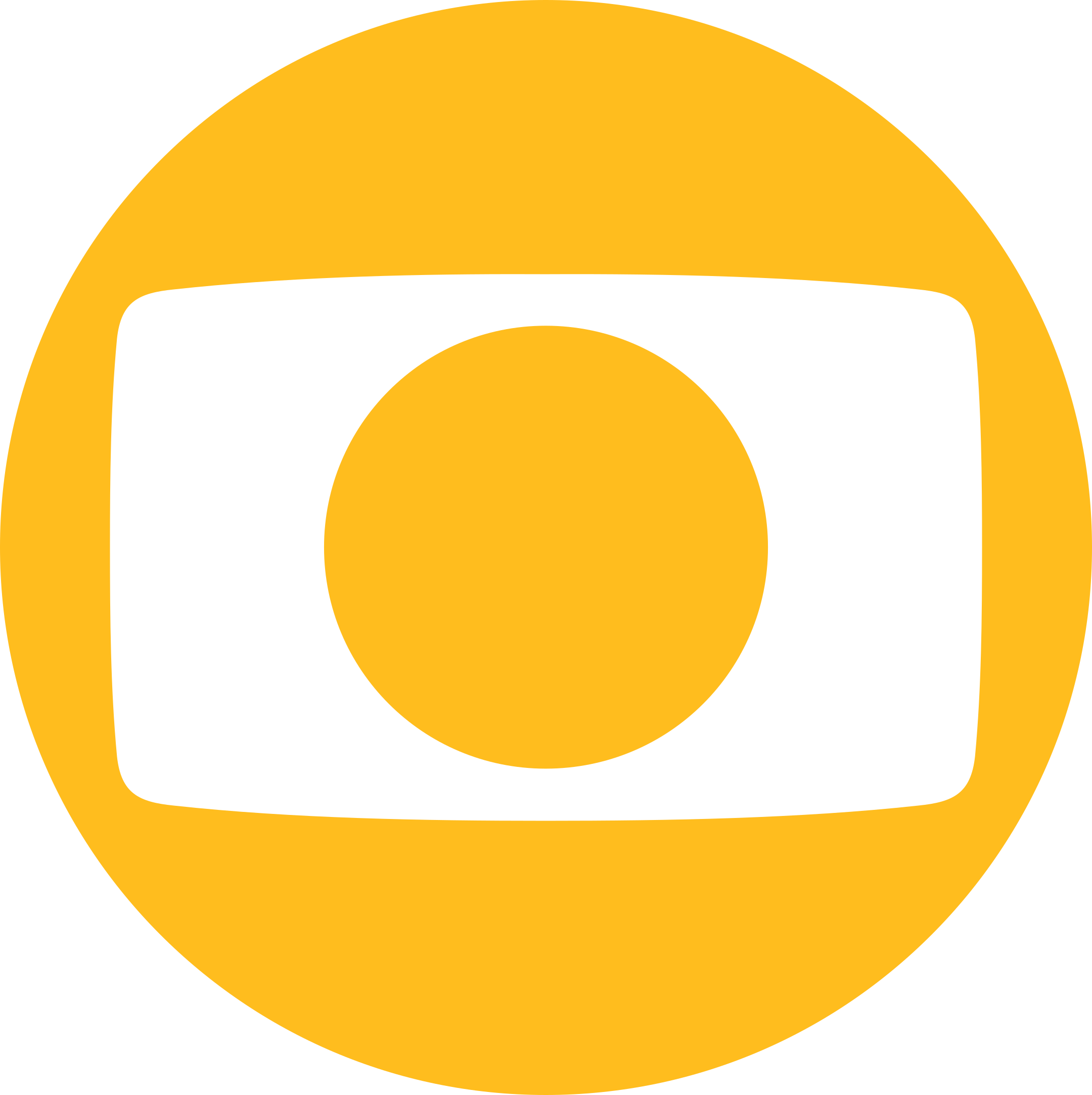 Rede Globo Logo amarelo.