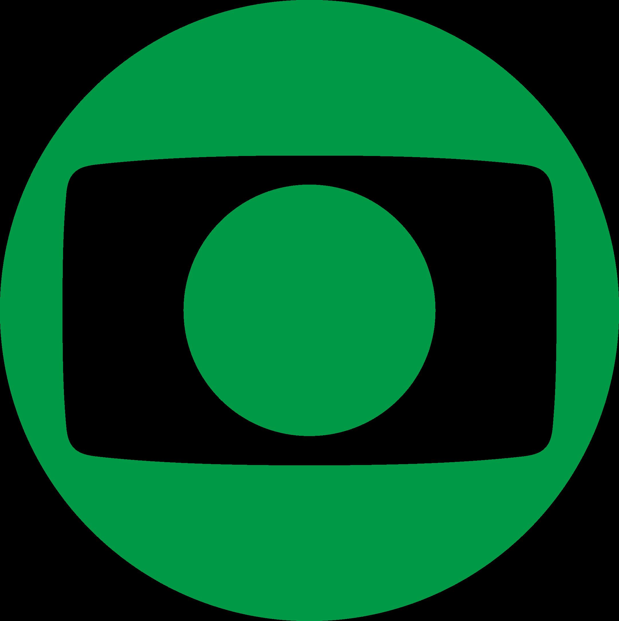 Rede Globo Logo verde,