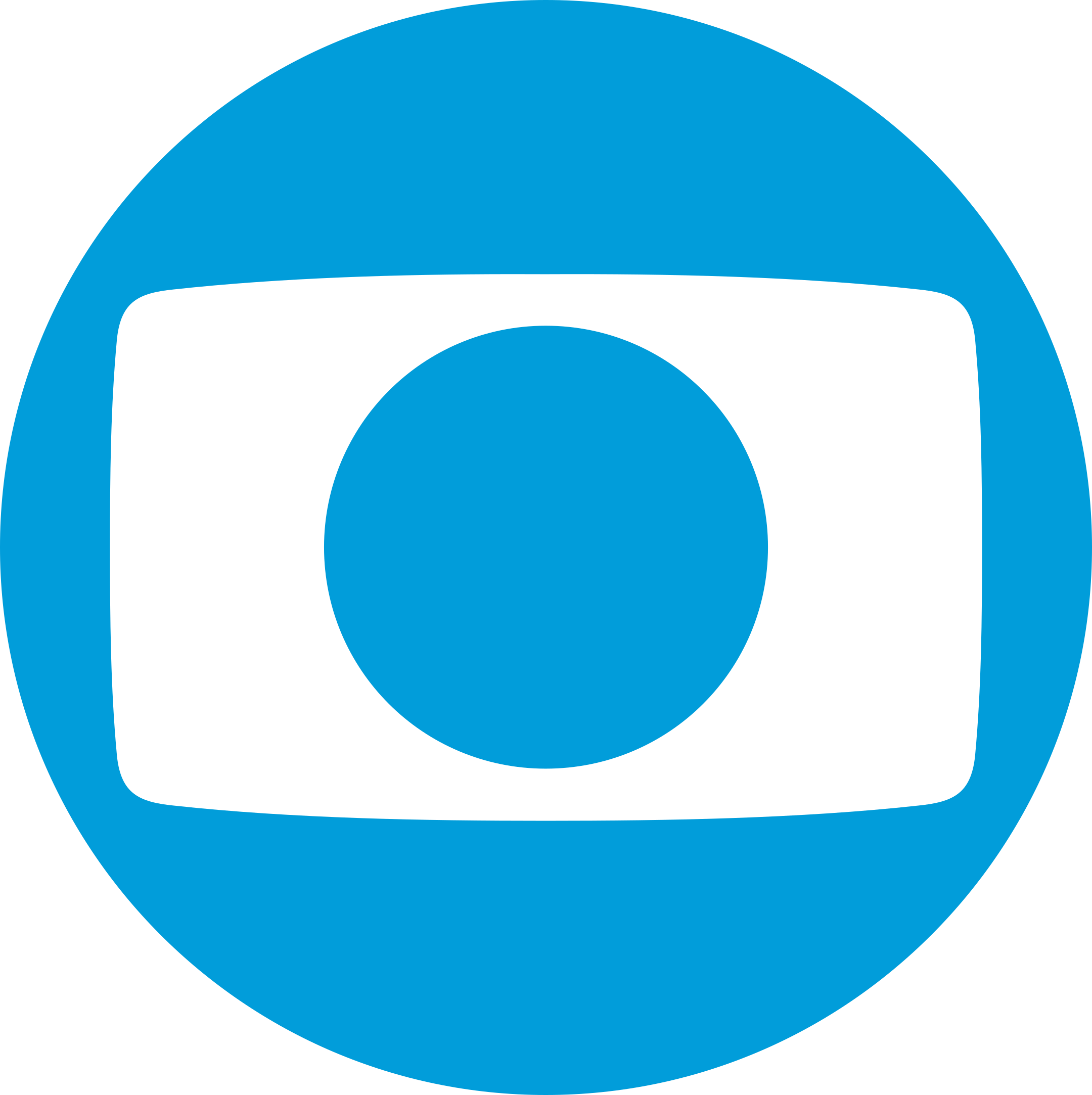 Rede Globo Logo azul.