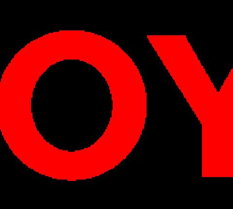 Toyota logo.