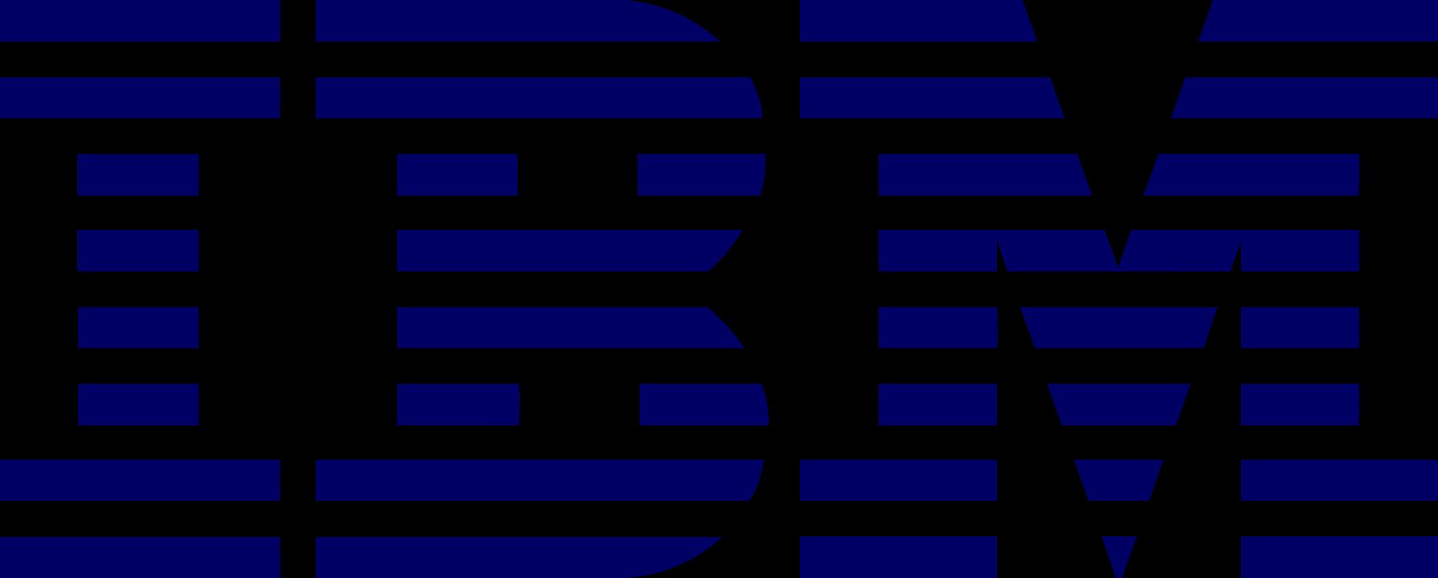 ibm logo 2 - IBM Logo