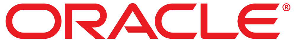 oracle logo, oracle corporation logo.