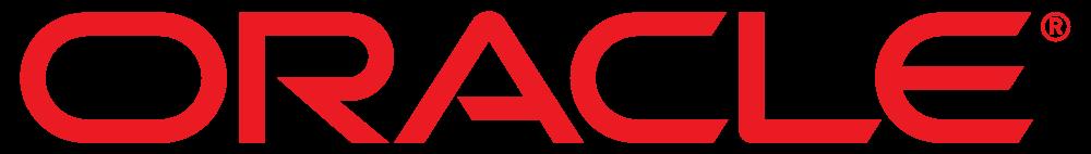 oracle logo, oracle corporation logo.