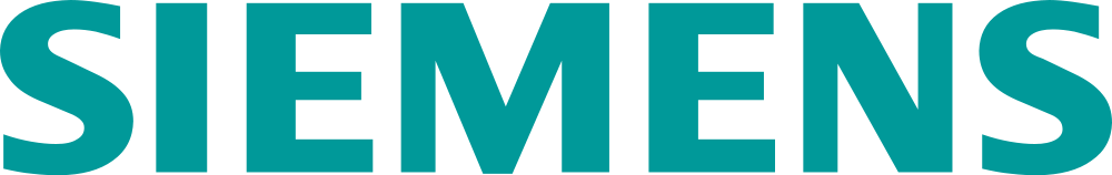 Siemens logo.