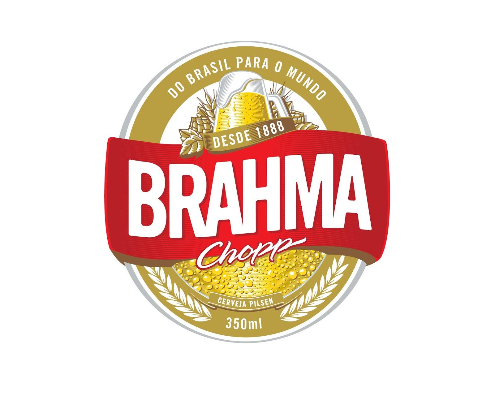 Brahma Logo, logotipo.
