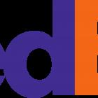 FedEx Logo, logotipo.