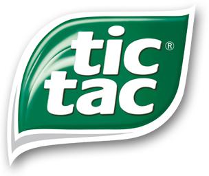 Tic Tac logo, logotipo.
