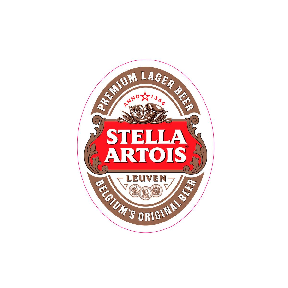 Stella Artois Logo, redondo.