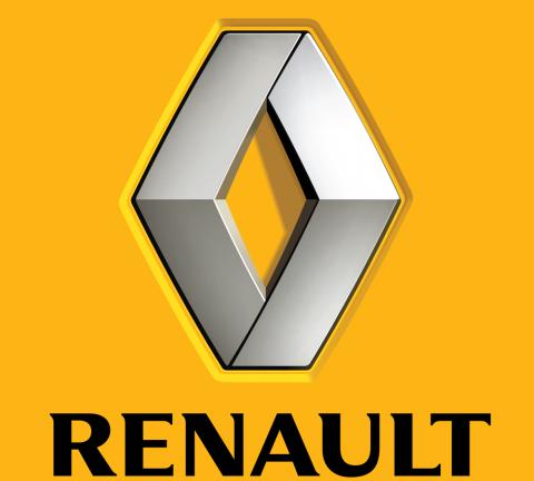 Renault logo.