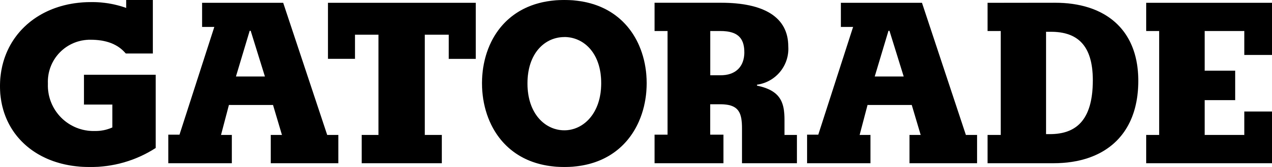 gatorade logo 1 1 - Gatorade Logo