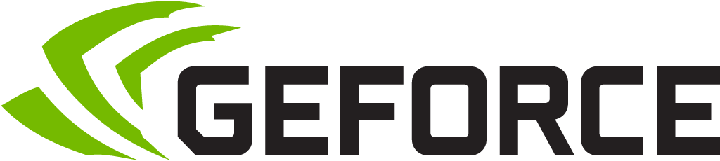 GeFORCE logo.