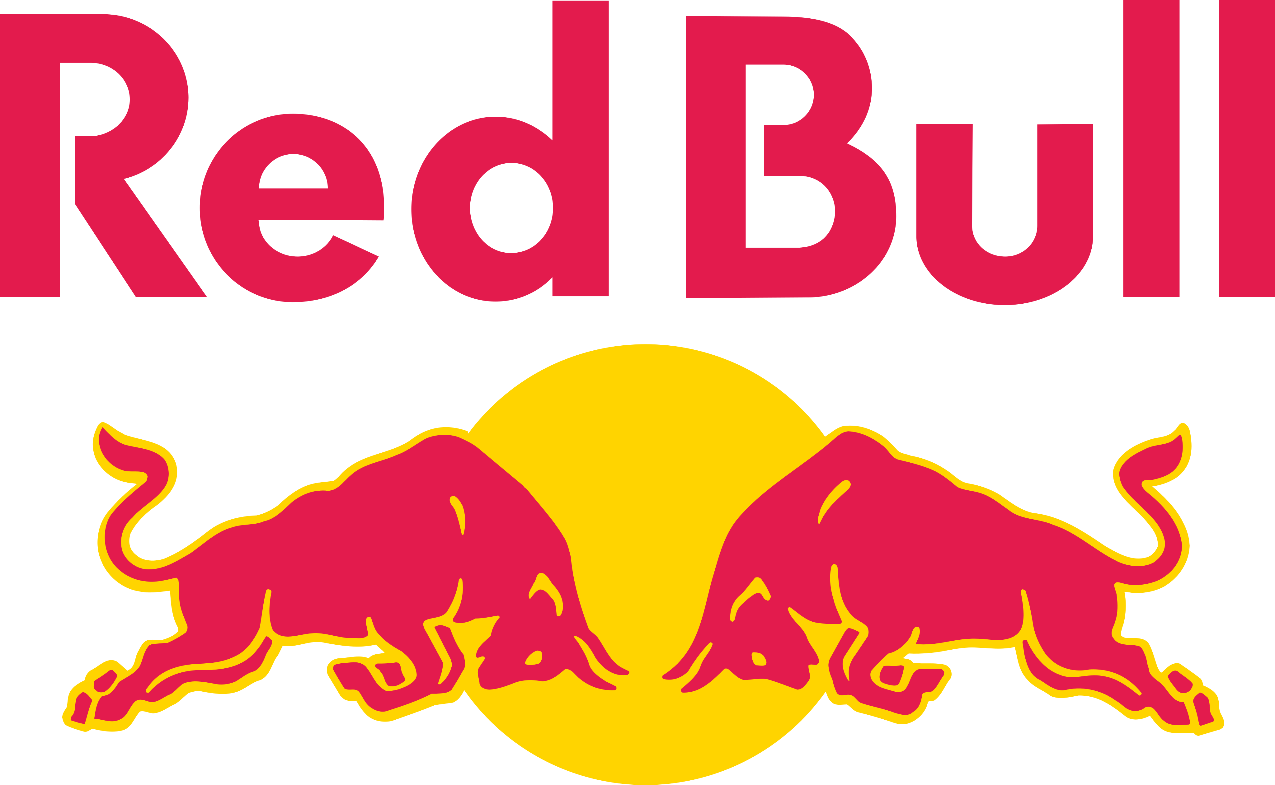 red bull logo 2 1 - Red Bull Logo