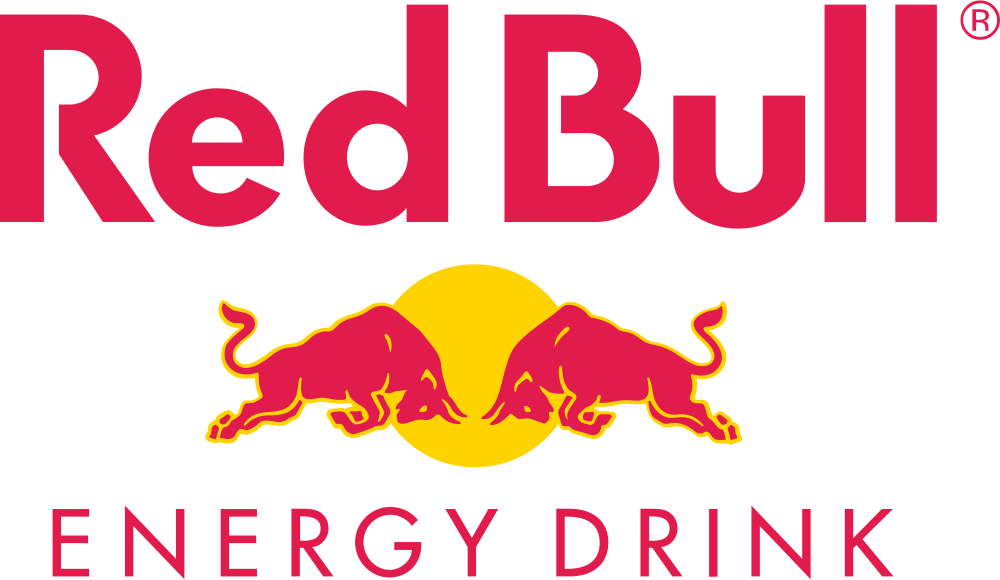 Red Bul logo.