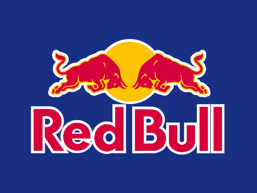 Red Bul logo.