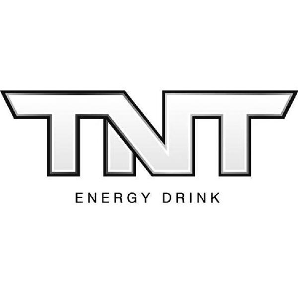 TNT energy drink, energético logo.