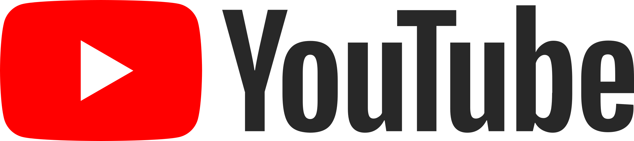 youtube logo 1 3 - YouTube Logo