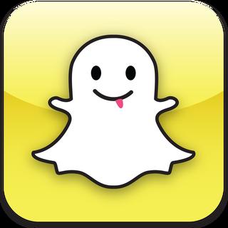Snapchat logo icone.