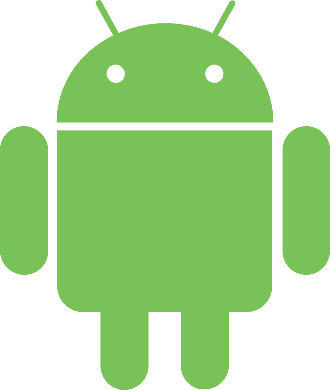 android logo 3 1 - Android Logo