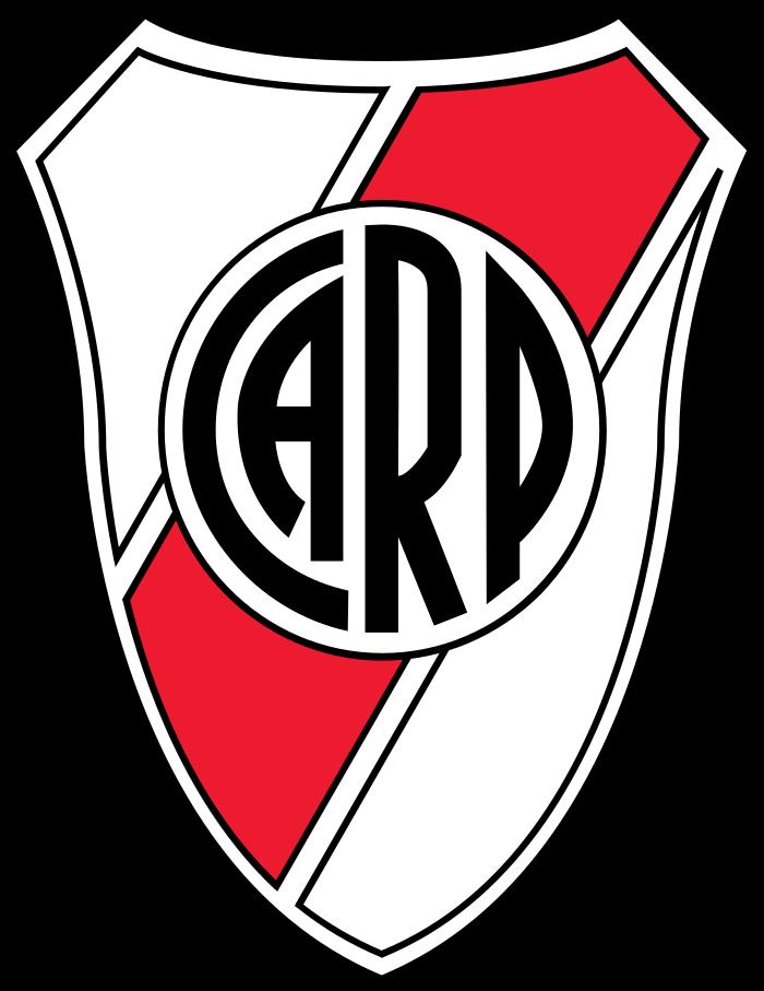 river plate logo 2 1 - River Plate Logo - Club Atlético River Plate Escudo