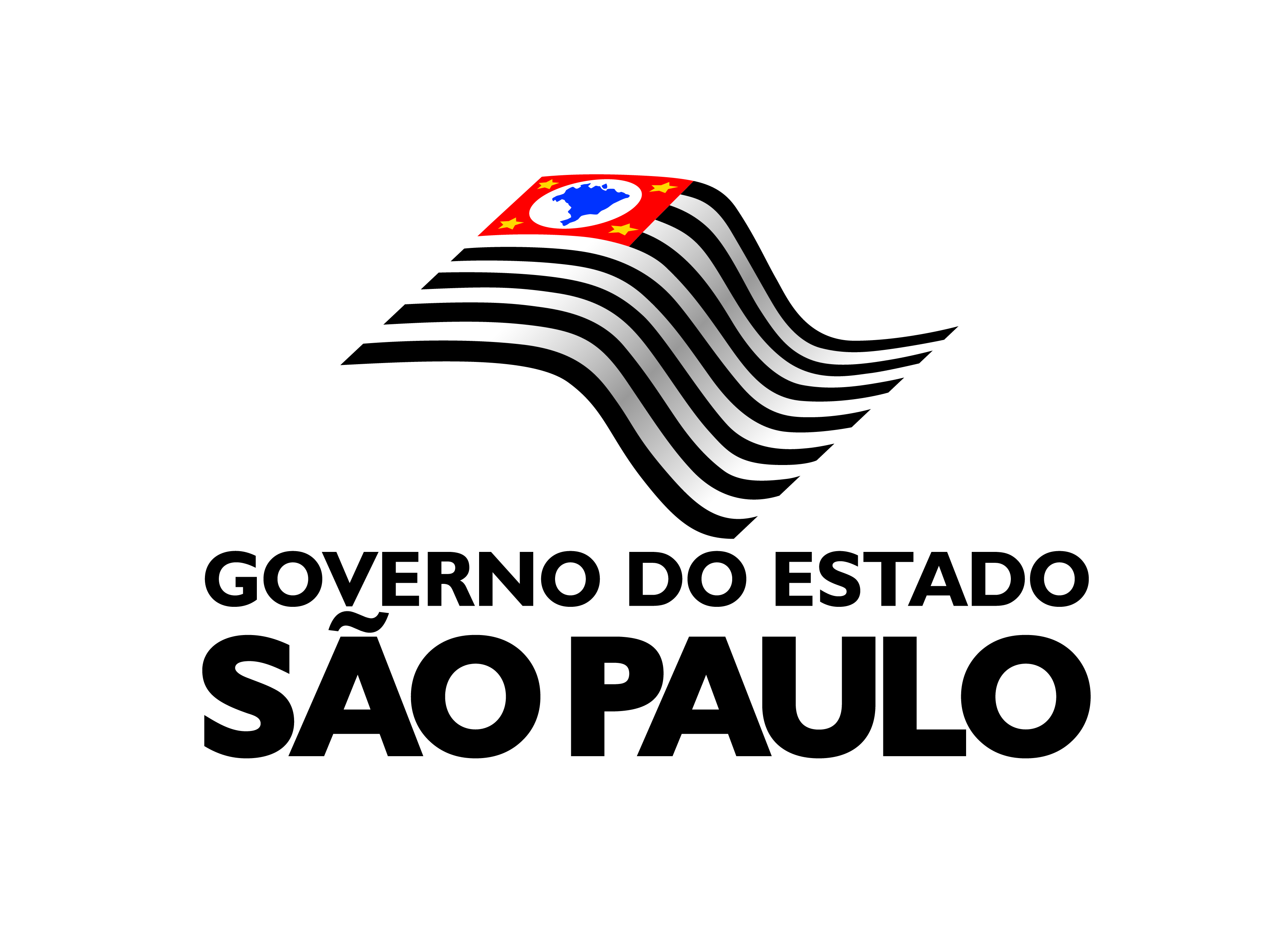 GOV_VERTICAL_PRETO - PNG - Download de Logotipos
