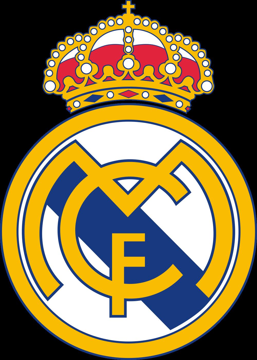 Real Madrid logo 4 - Real Madrid Logo - Real Madrid Club de Fútbol Escudo