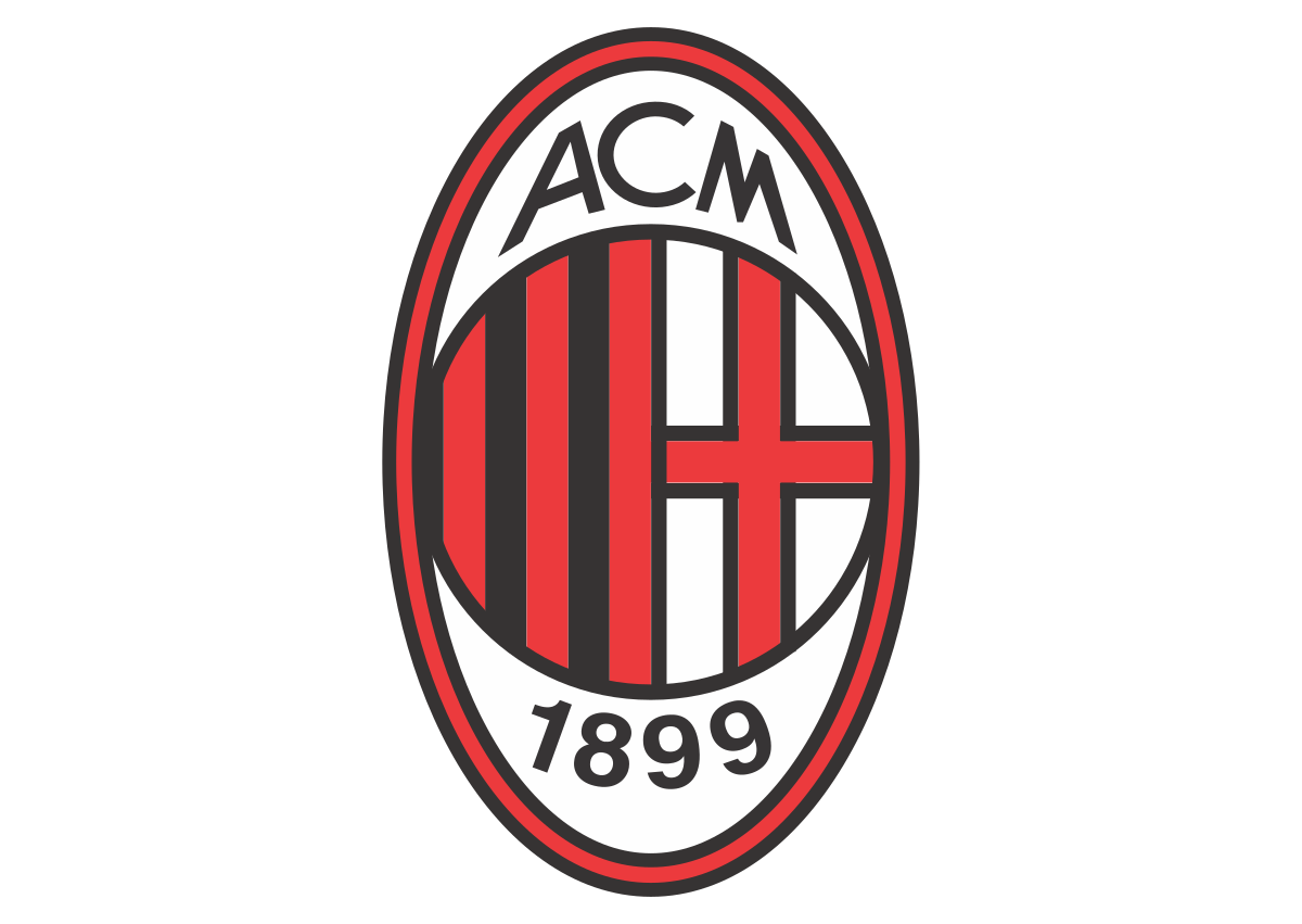 Milan logo 8 - Milan Logo - Milan Escudo