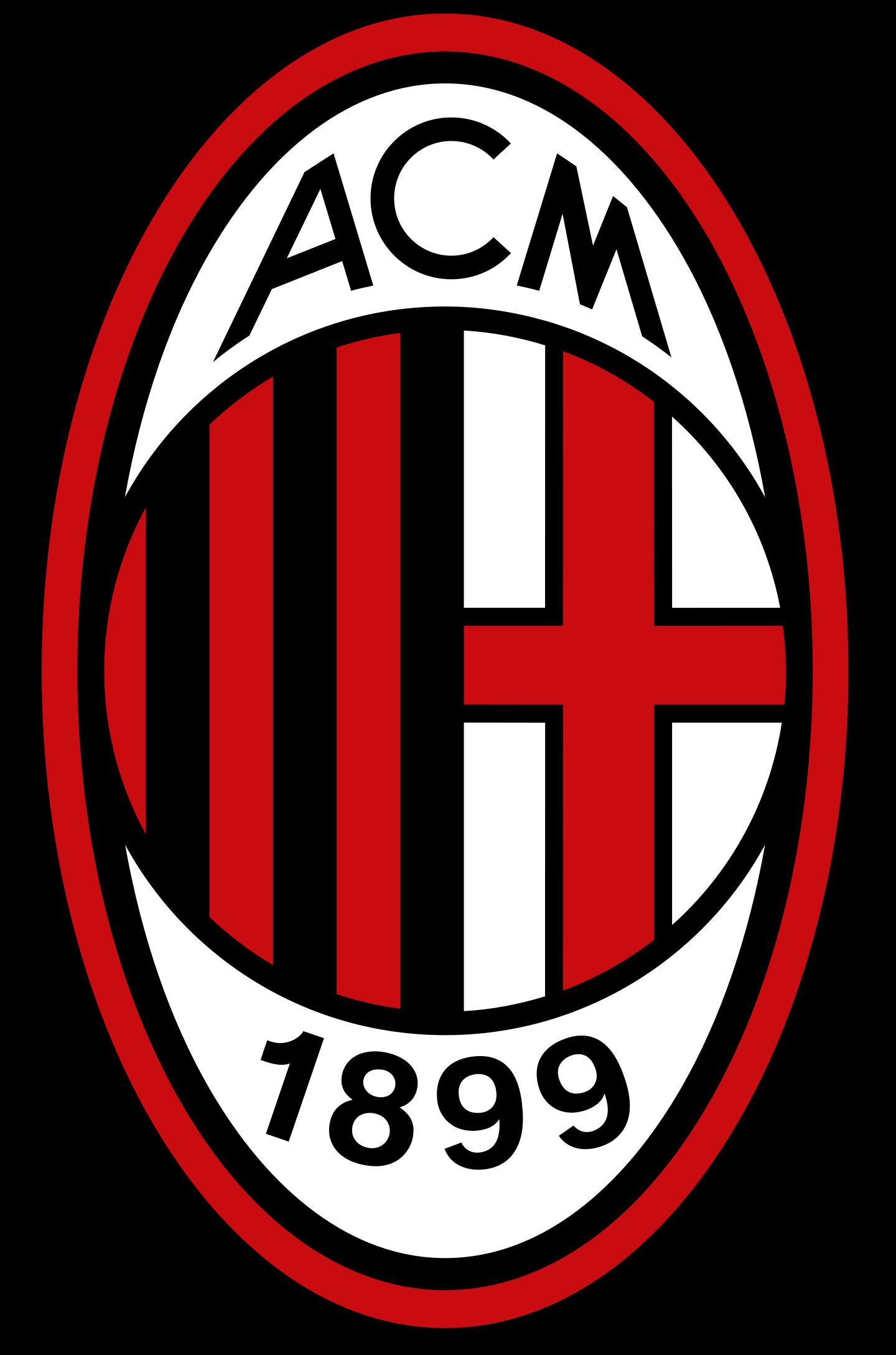 ac milan logo 2 - AC Milan Logo