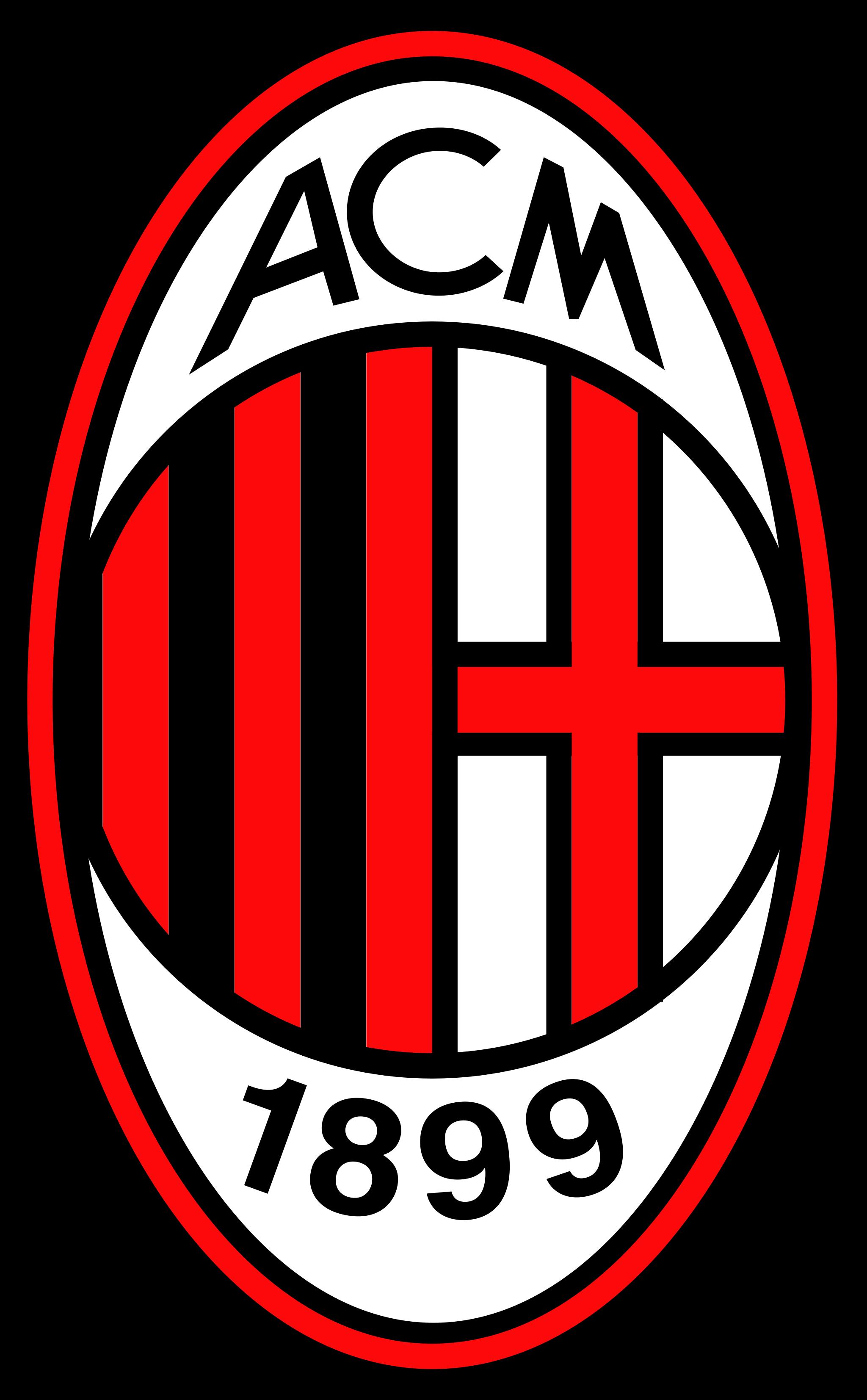 milan logo 1 - Milan Logo - Milan Escudo