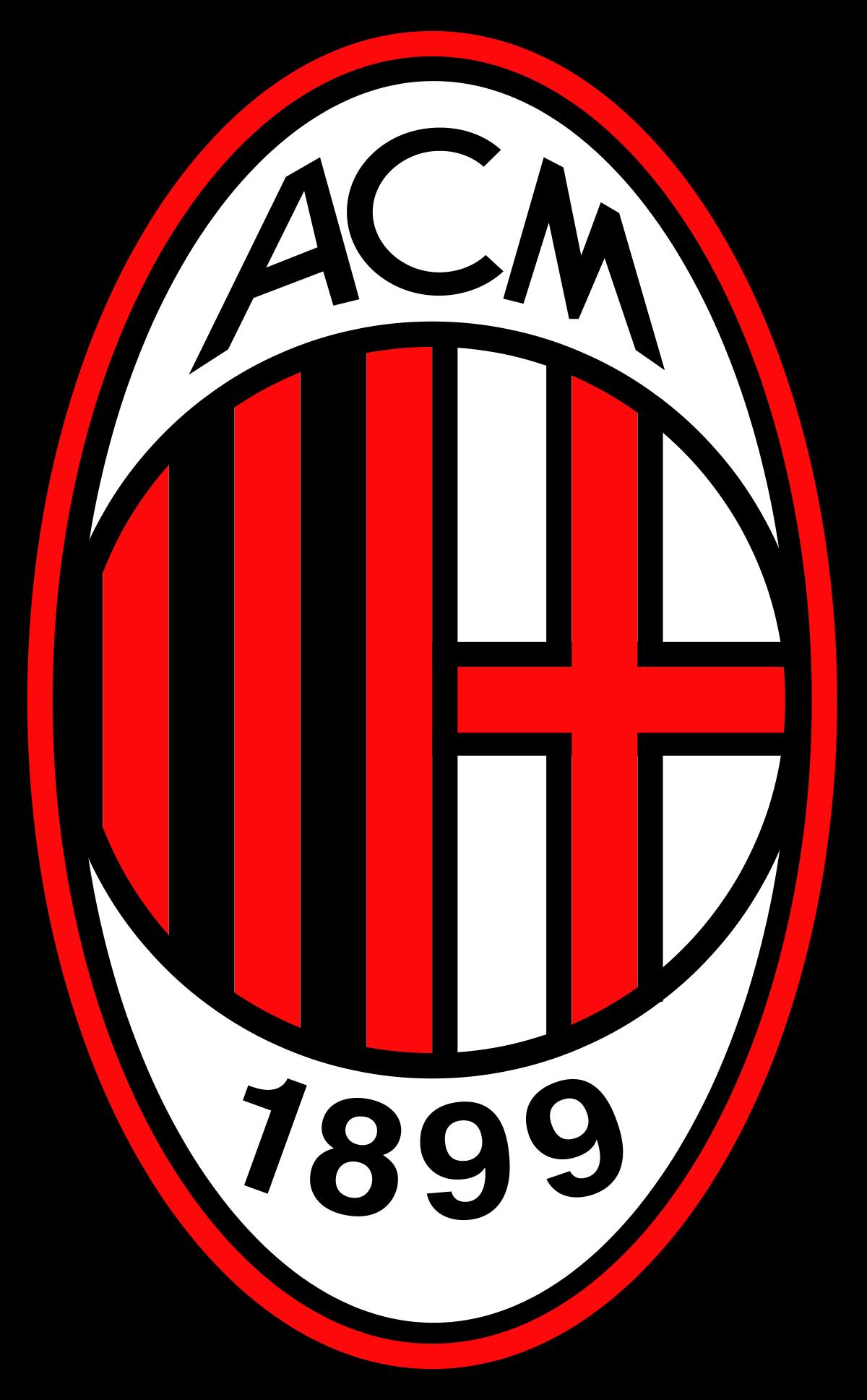 milan logo 2 - Milan Logo - Milan Escudo