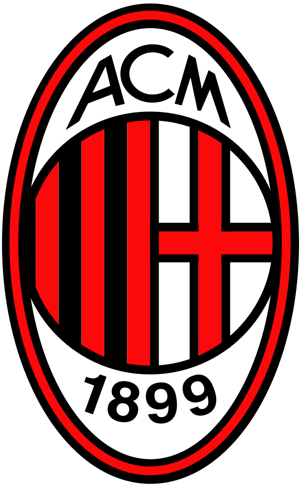 milan logo 3 - Milan Logo - Milan Escudo