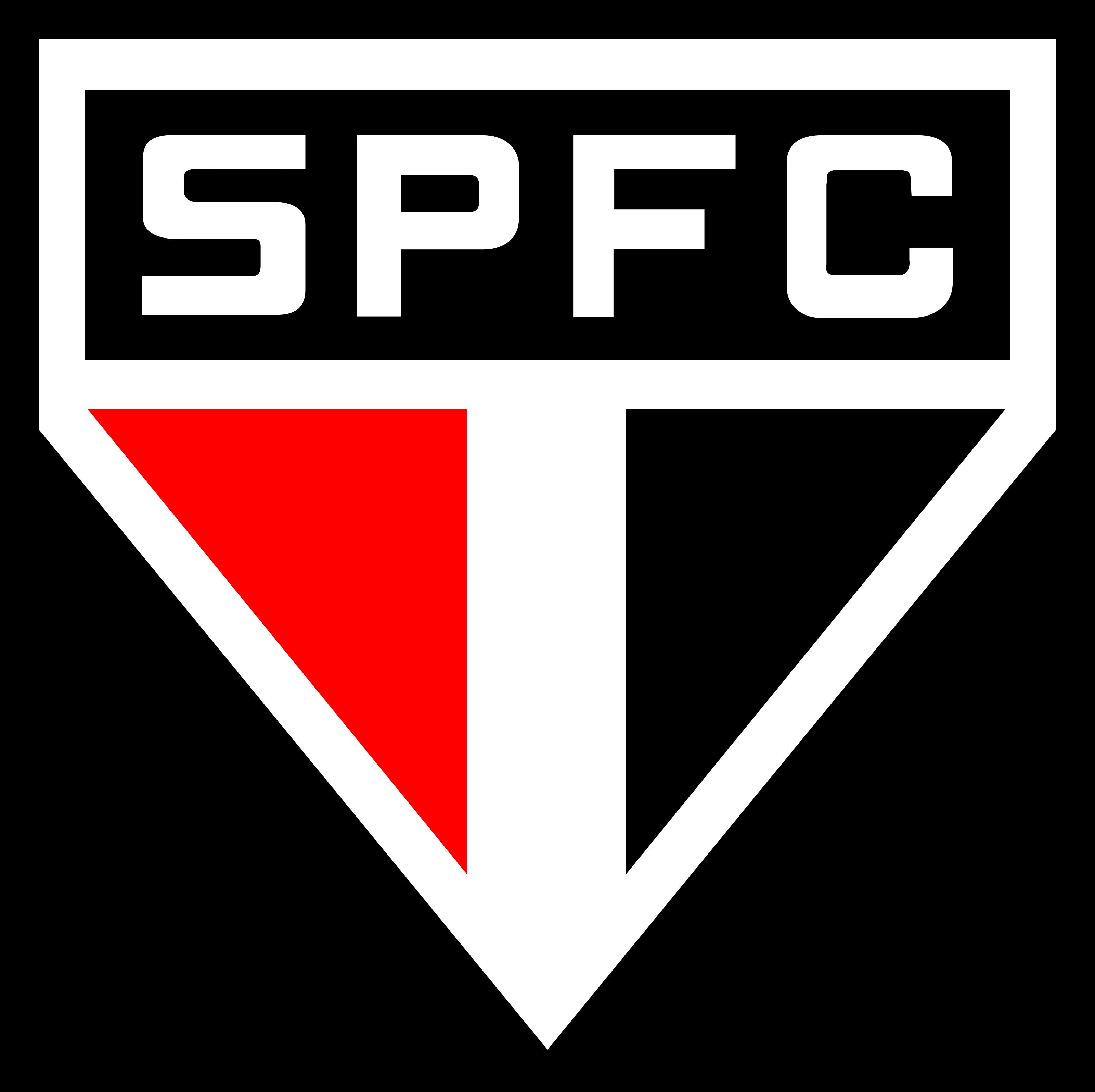 sao paulo logo escudo 1 - São Paulo FC Logo