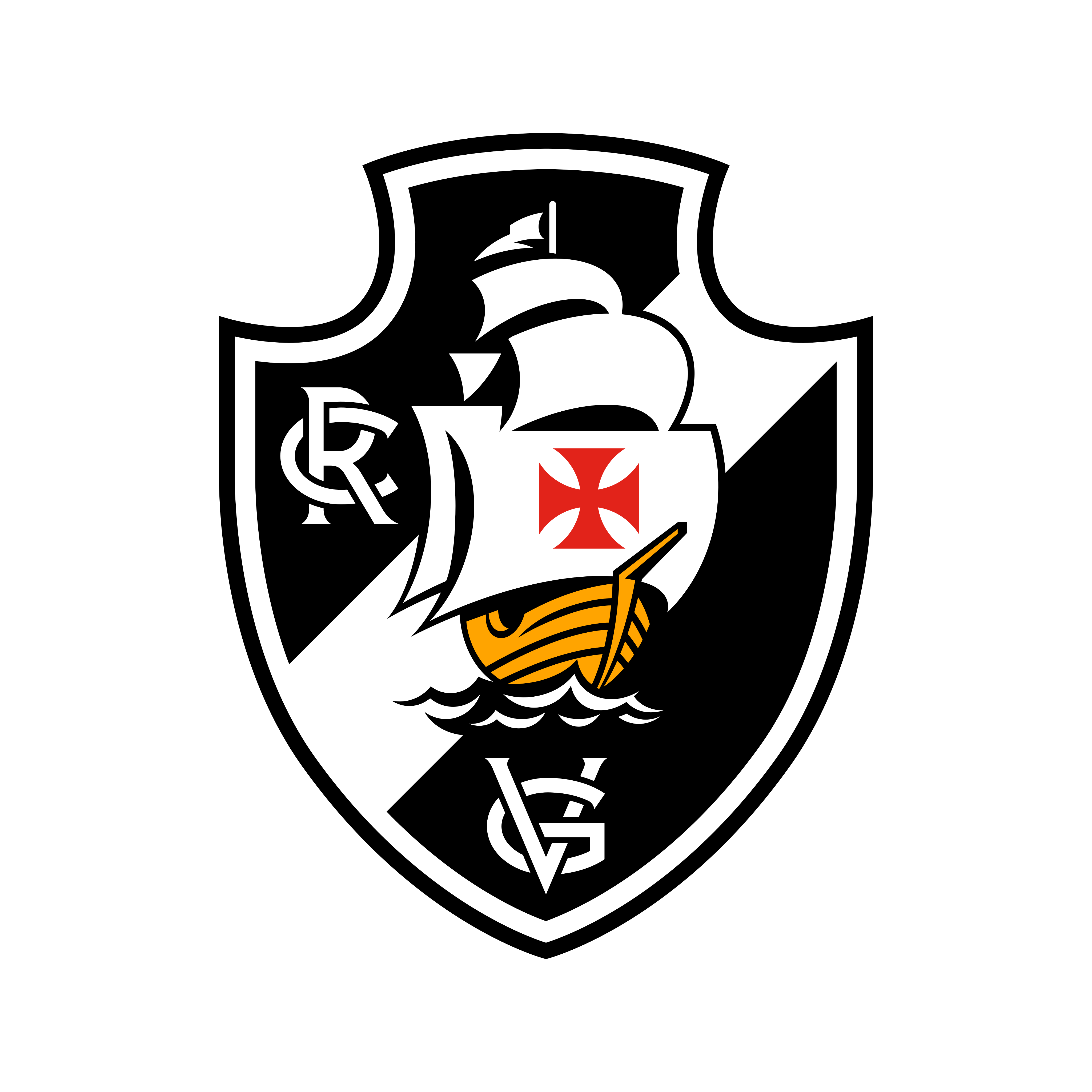 vasco logo 0 - Vasco da Gama Logo - Escudo