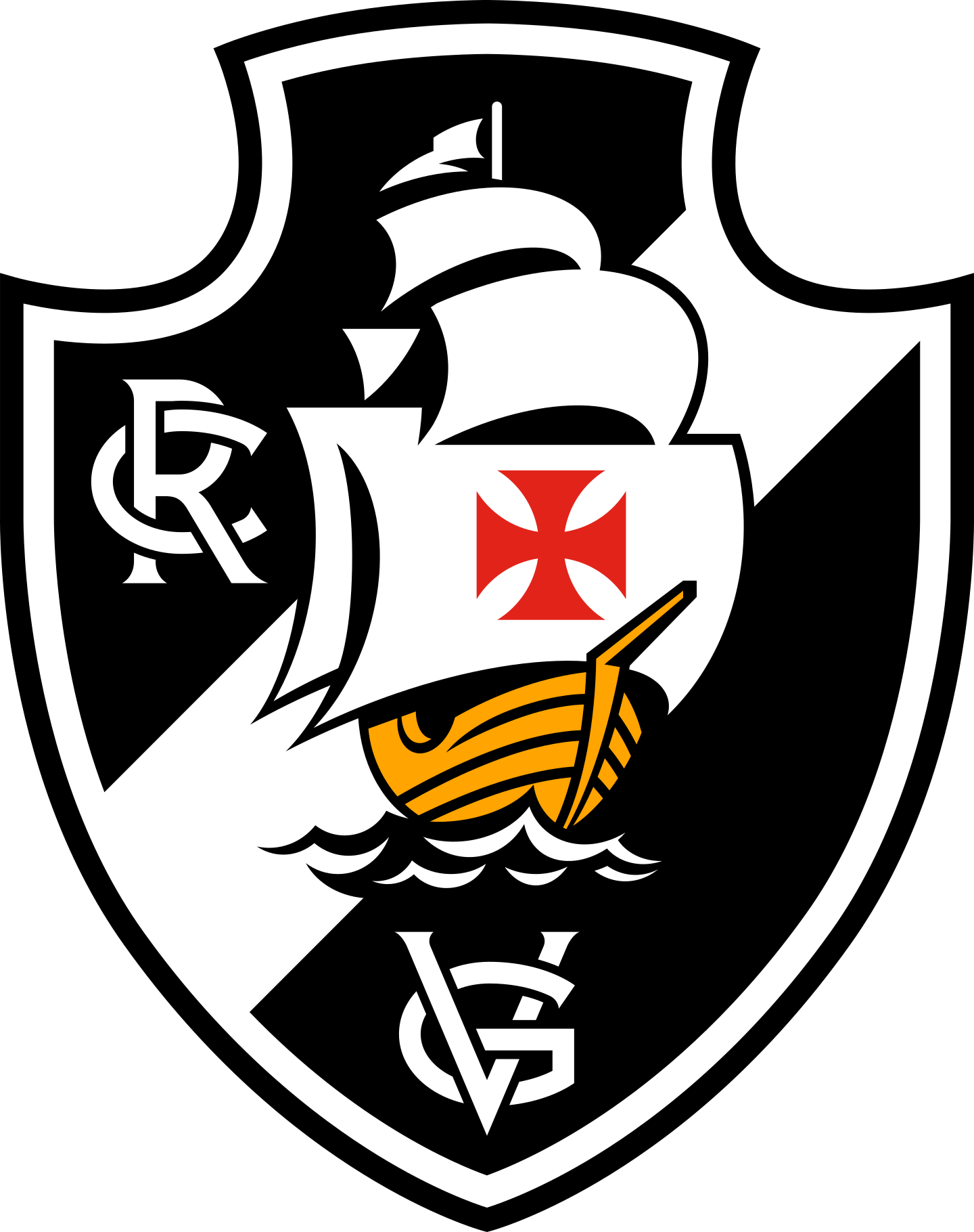 vasco logo 2 - Vasco da Gama Logo - Escudo