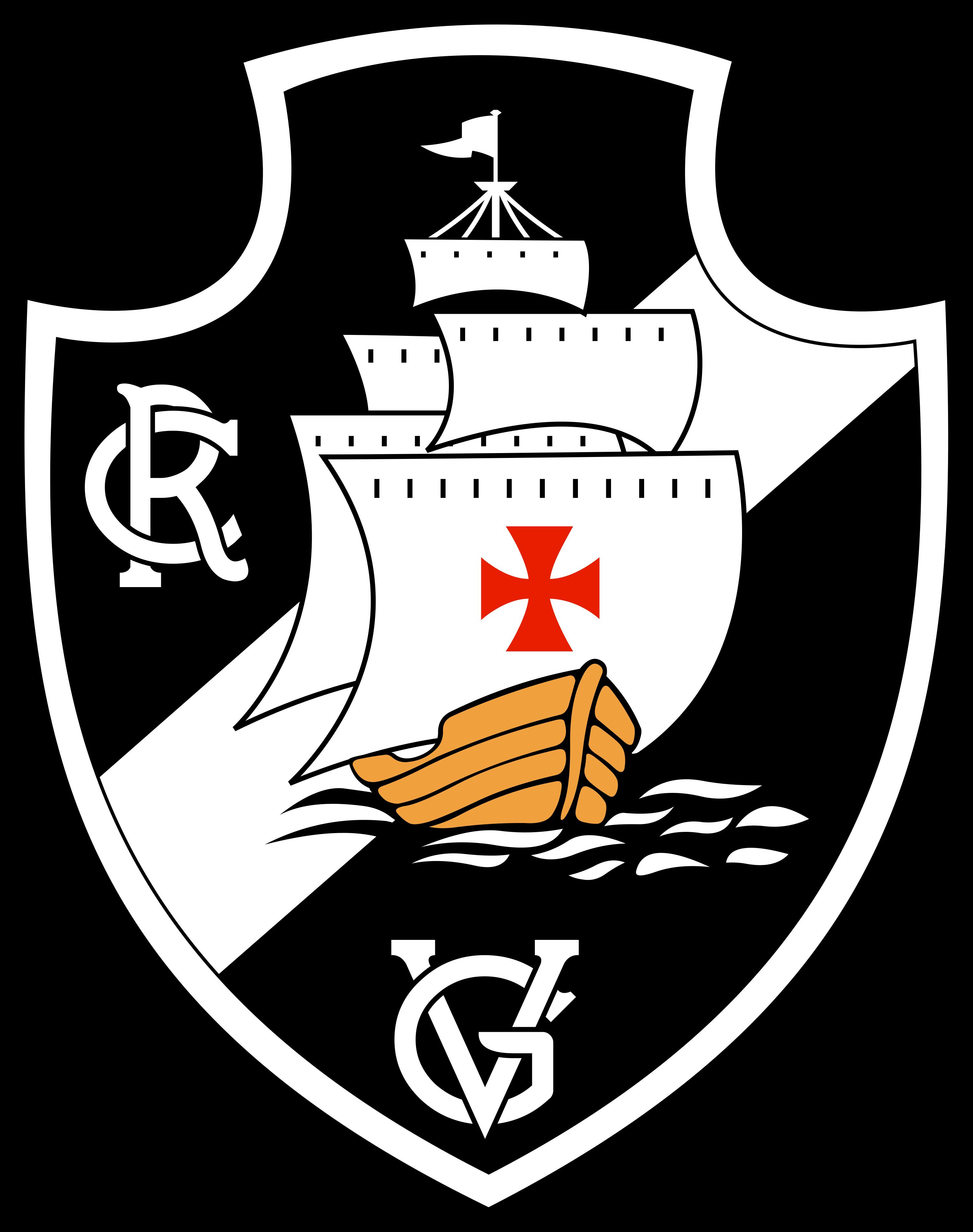 vasco logo escudo 2 - Vasco da Gama Logo