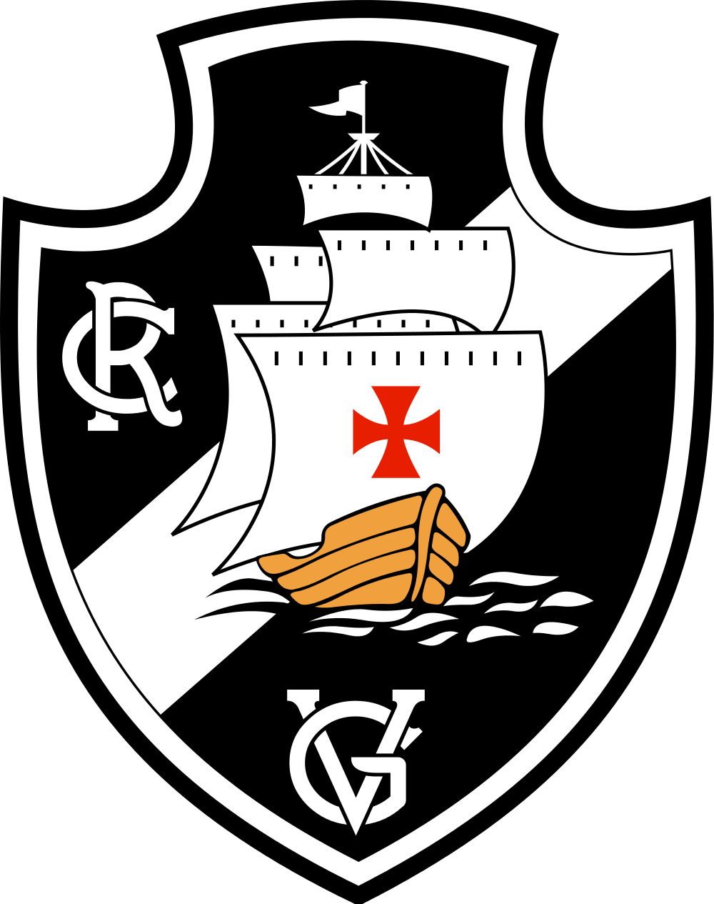 vasco logo escudo 3 - Vasco da Gama Logo