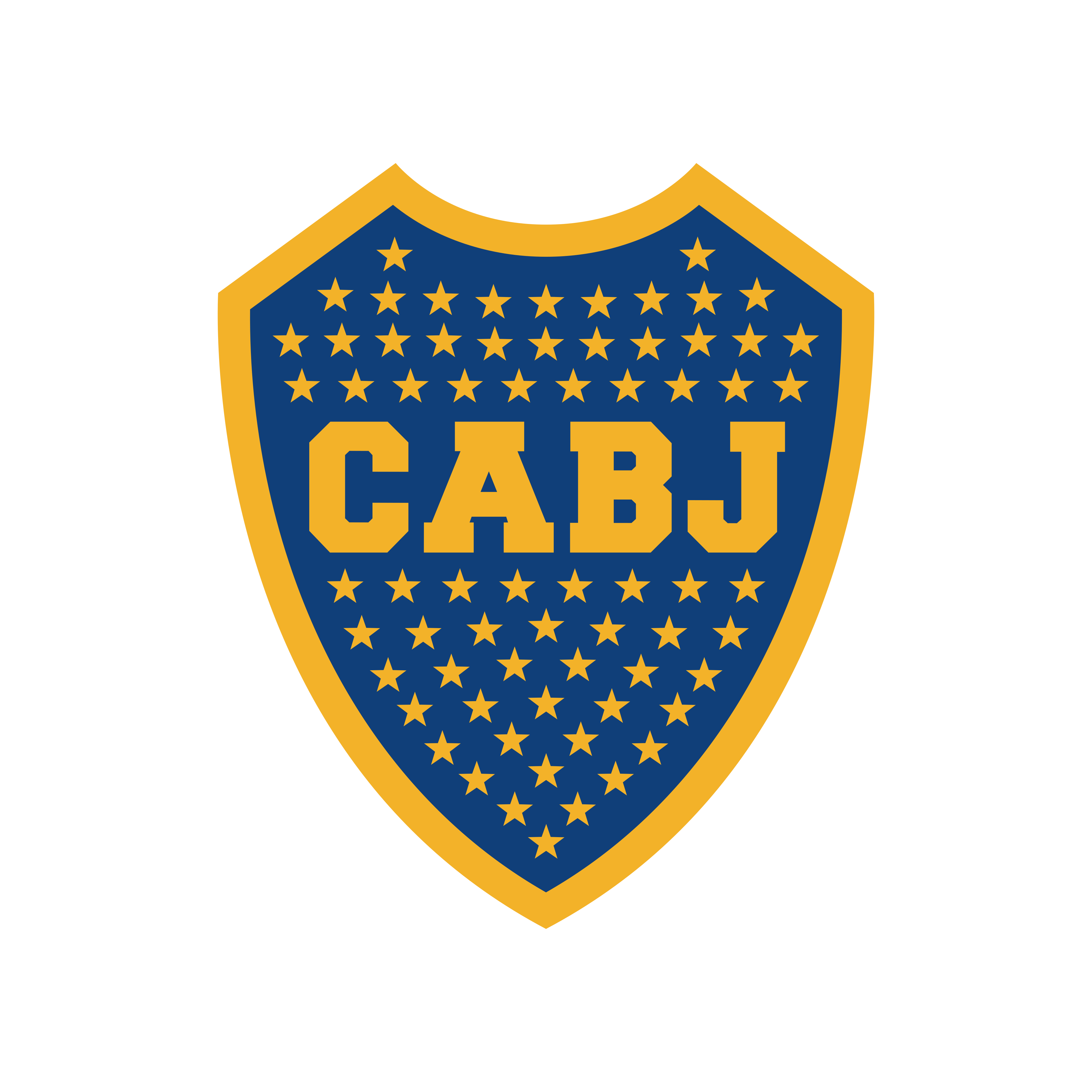 boca juniors logo escudo 0 - Boca Juniors Logo - Escudo
