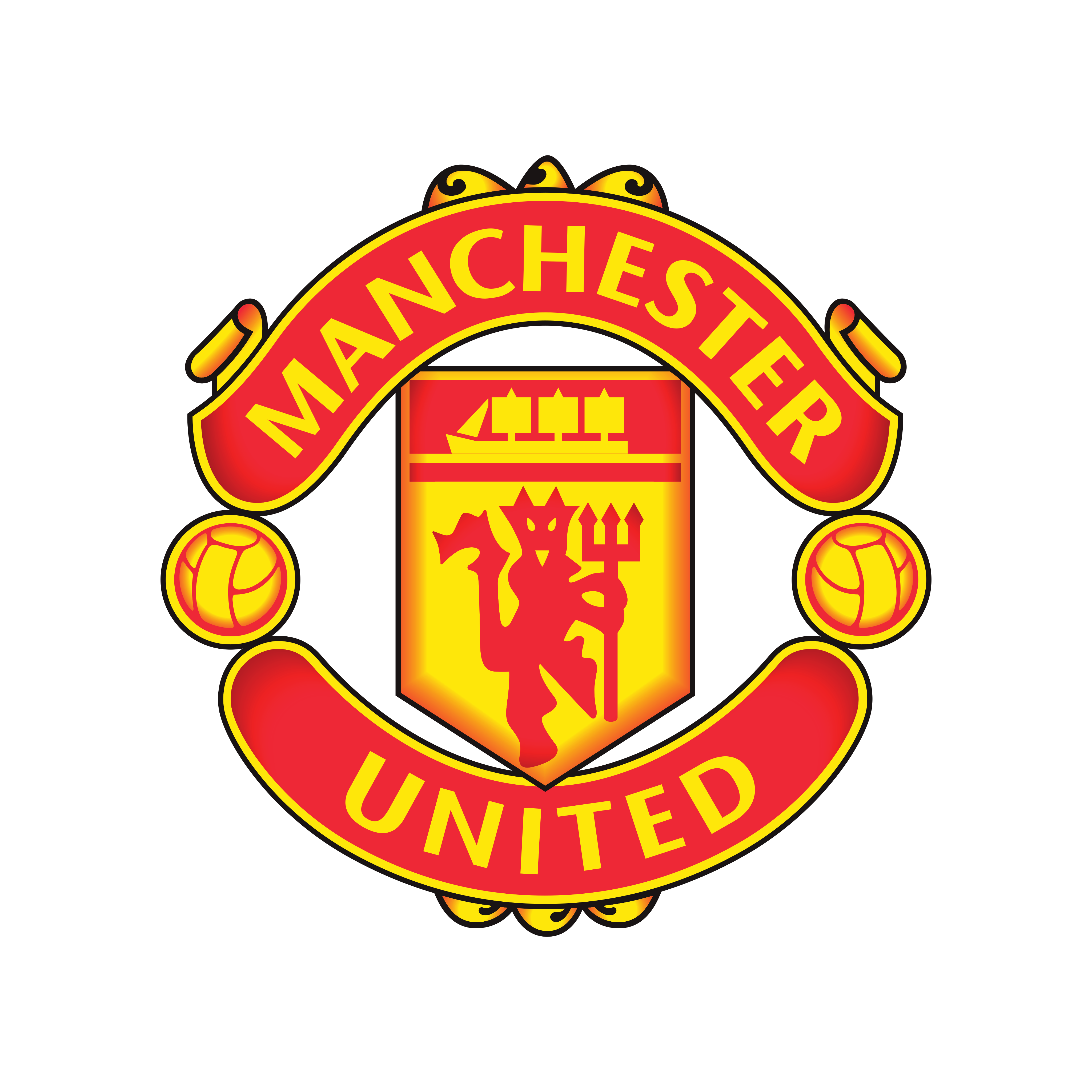 Manchester United Logo PNG.