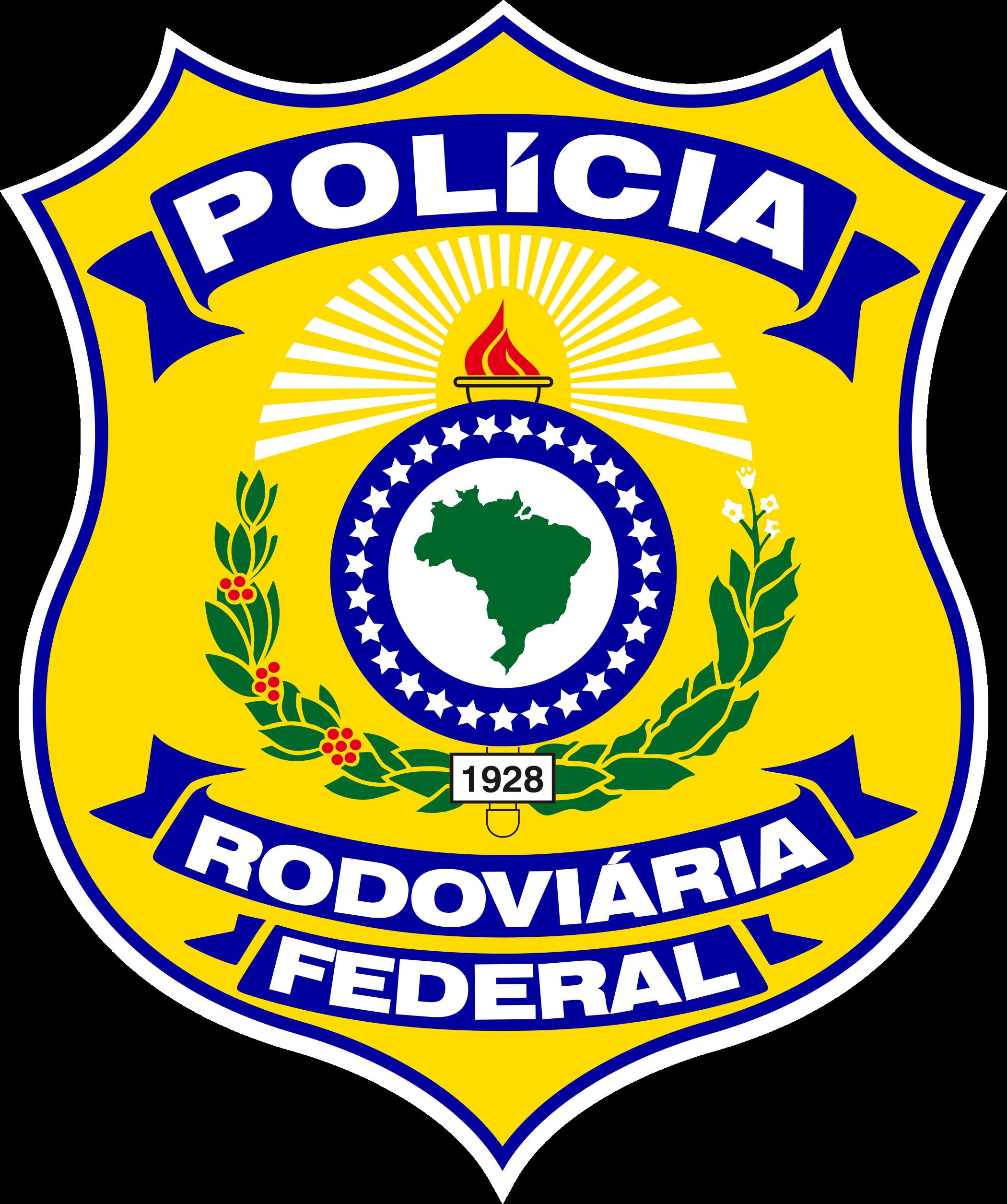 Policia rodoviária federal logo.