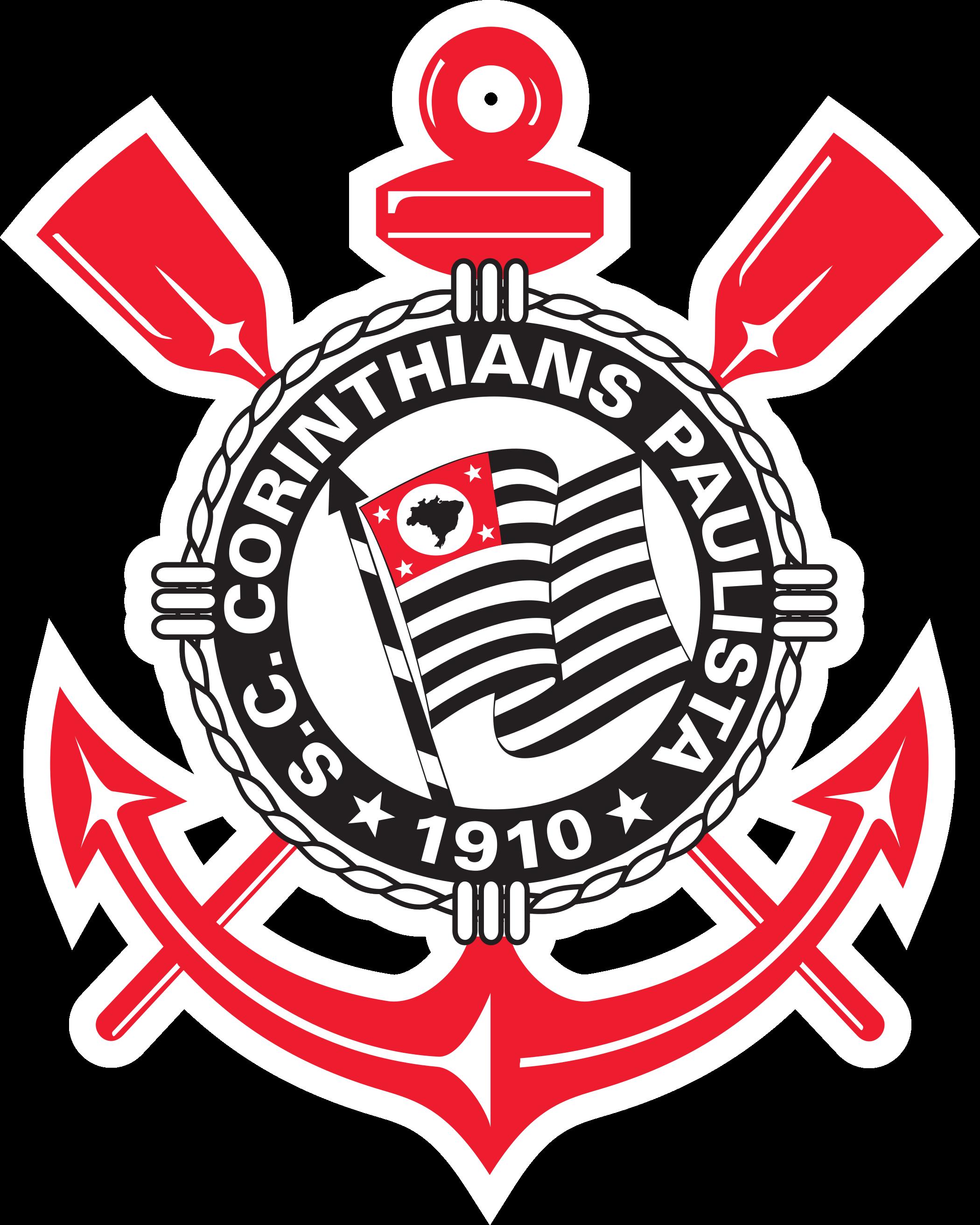 Corinthians logo escudo 1 - Corinthians Logo - Escudo