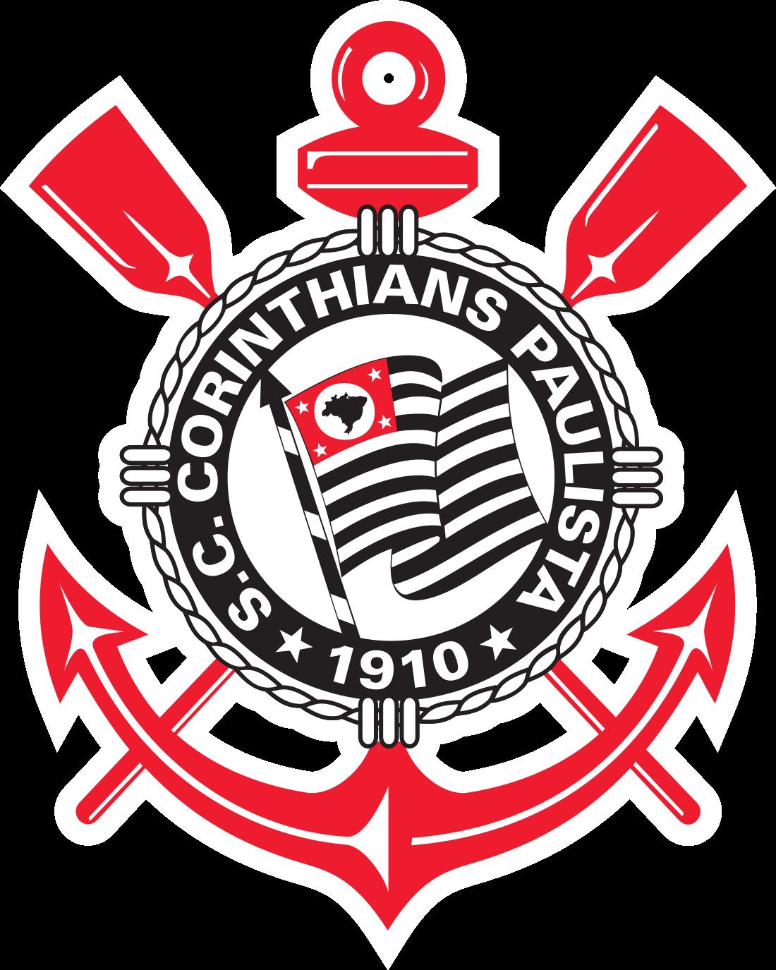 Corinthians logo escudo 3 - Corinthians Logo - Escudo