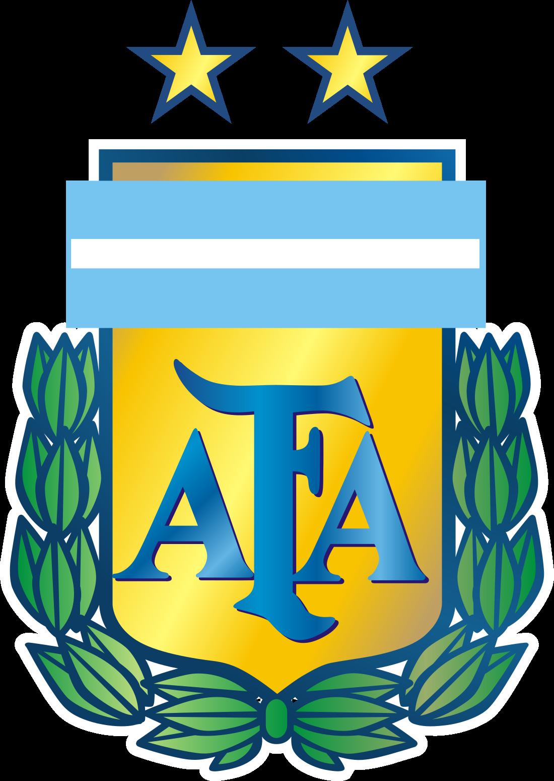 AFA, Seleção Argentina Logo, escudo.