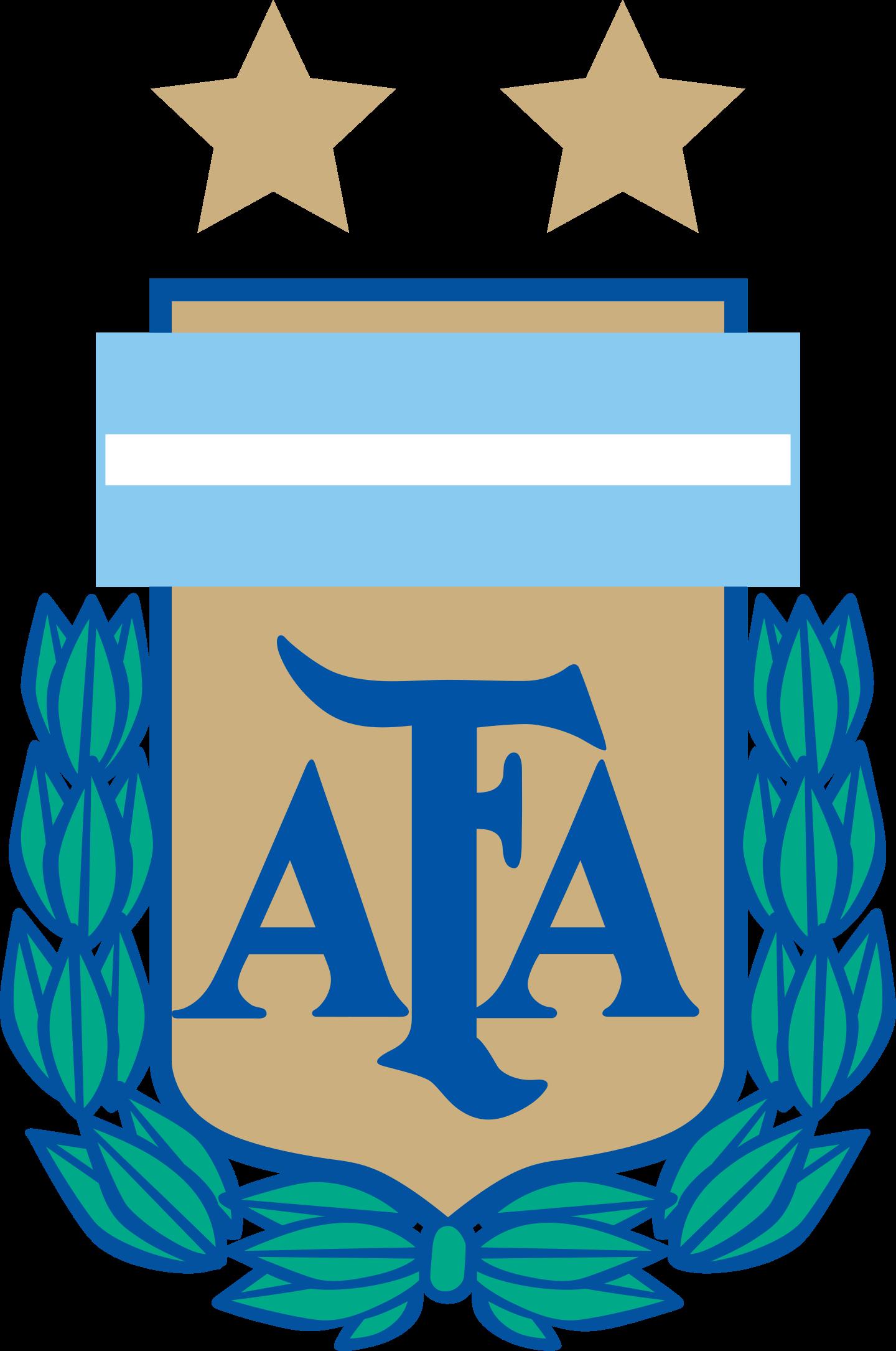 afa seleccion argentina futbol logo 2 - AFA - Selección Argentina Logo