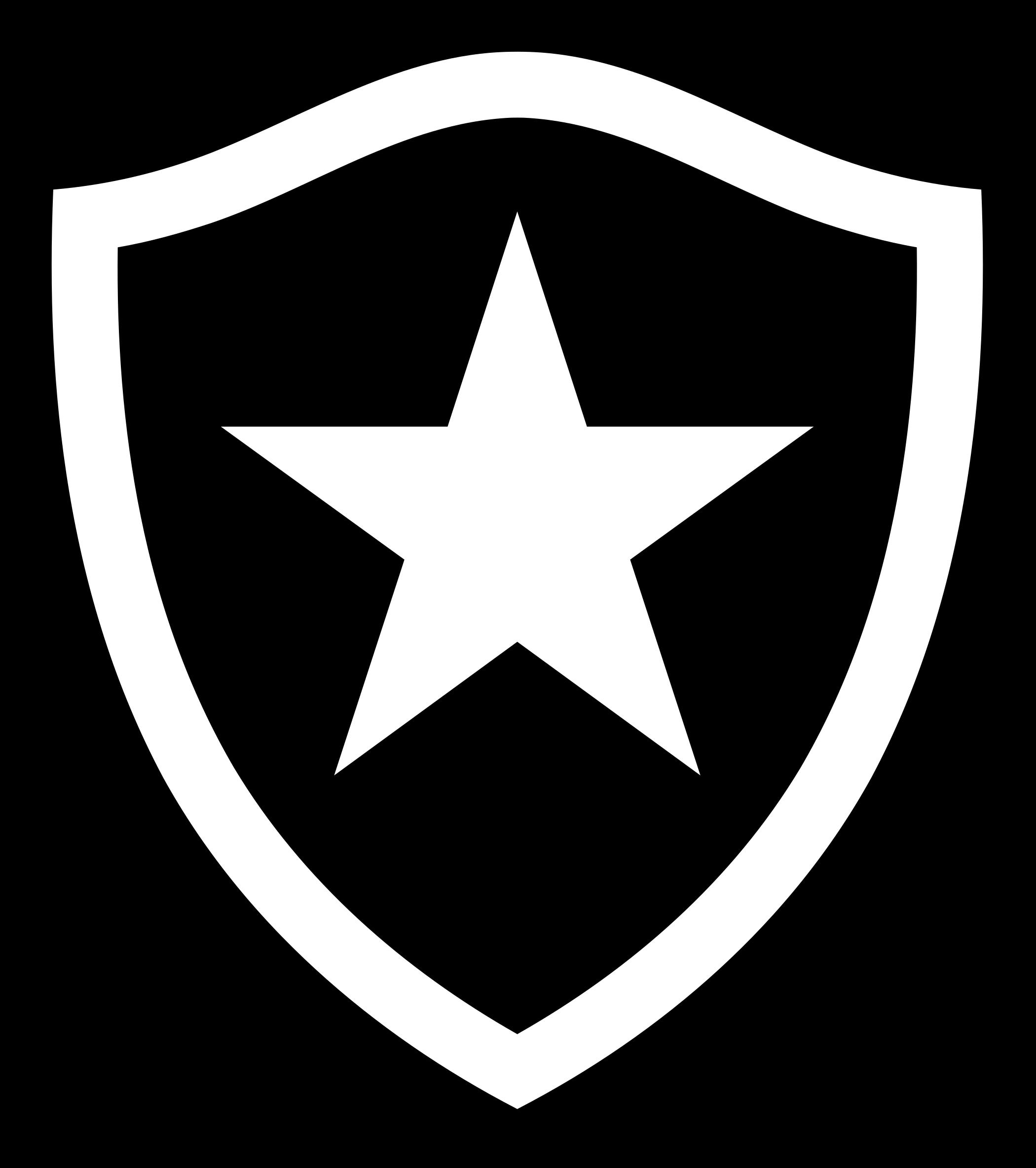 botafogo logo escudo 1 - Botafogo Logo - Escudo