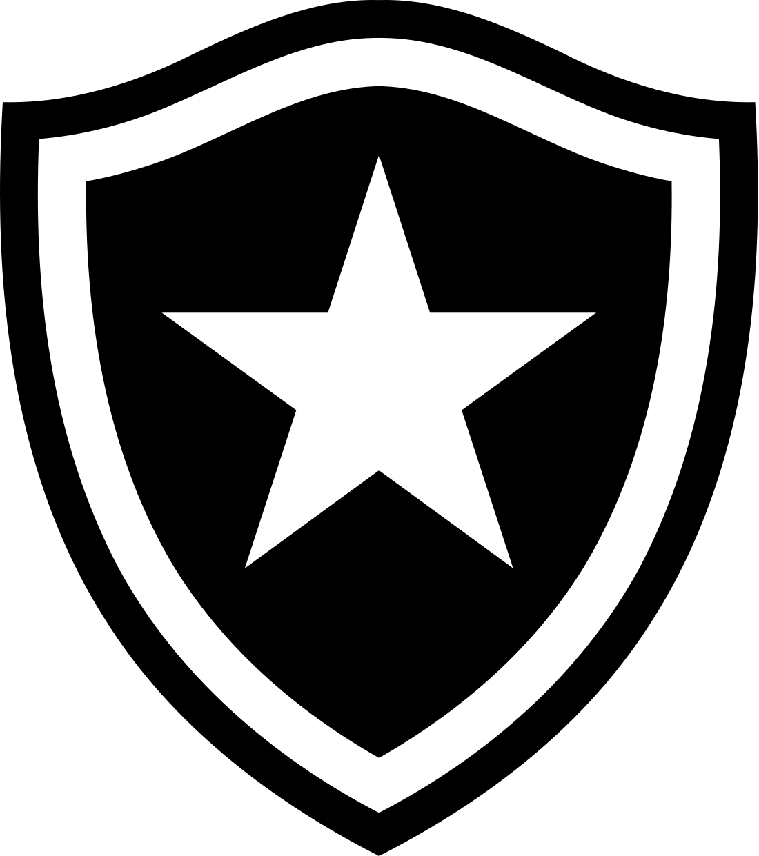 botafogo logo escudo 3 - Botafogo Logo - Escudo