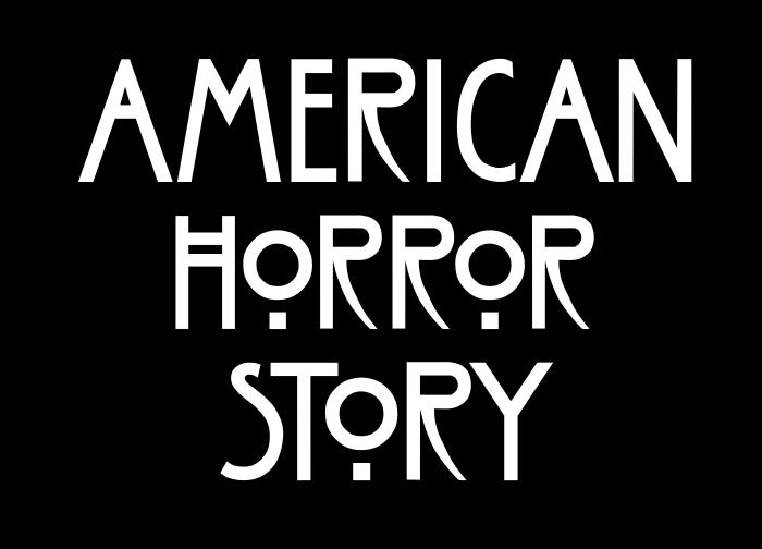 American Horror Story logo, AHS logo.