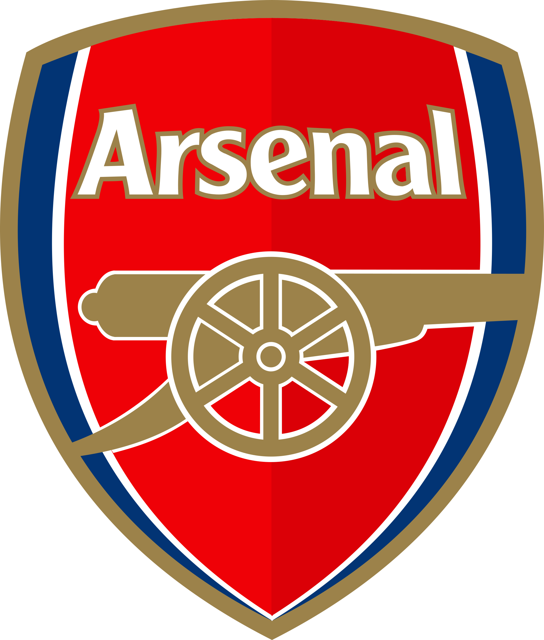 Arsenal logo escudo shield 1 - Arsenal F.C Logo