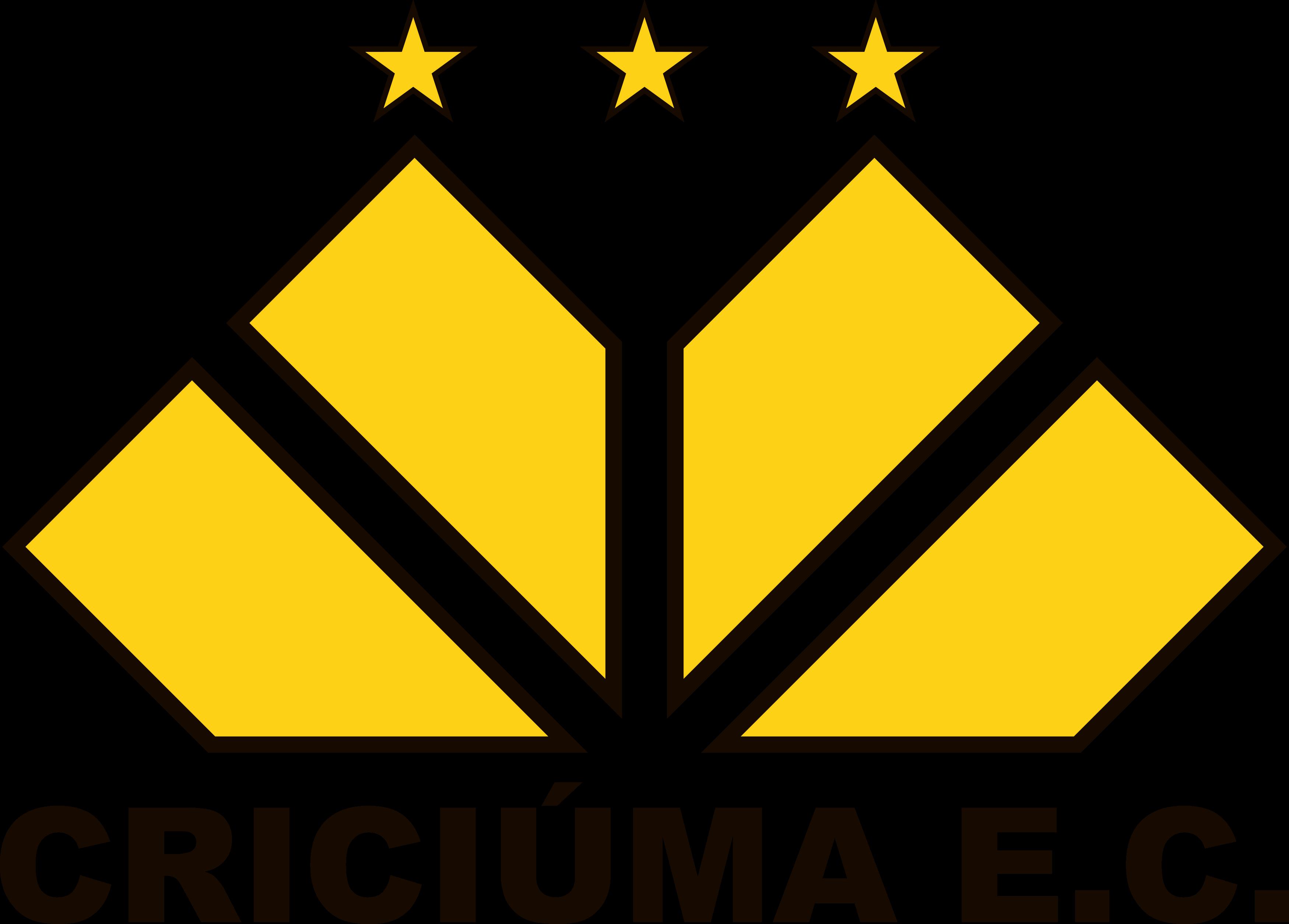 Criciúma logo, escudo.
