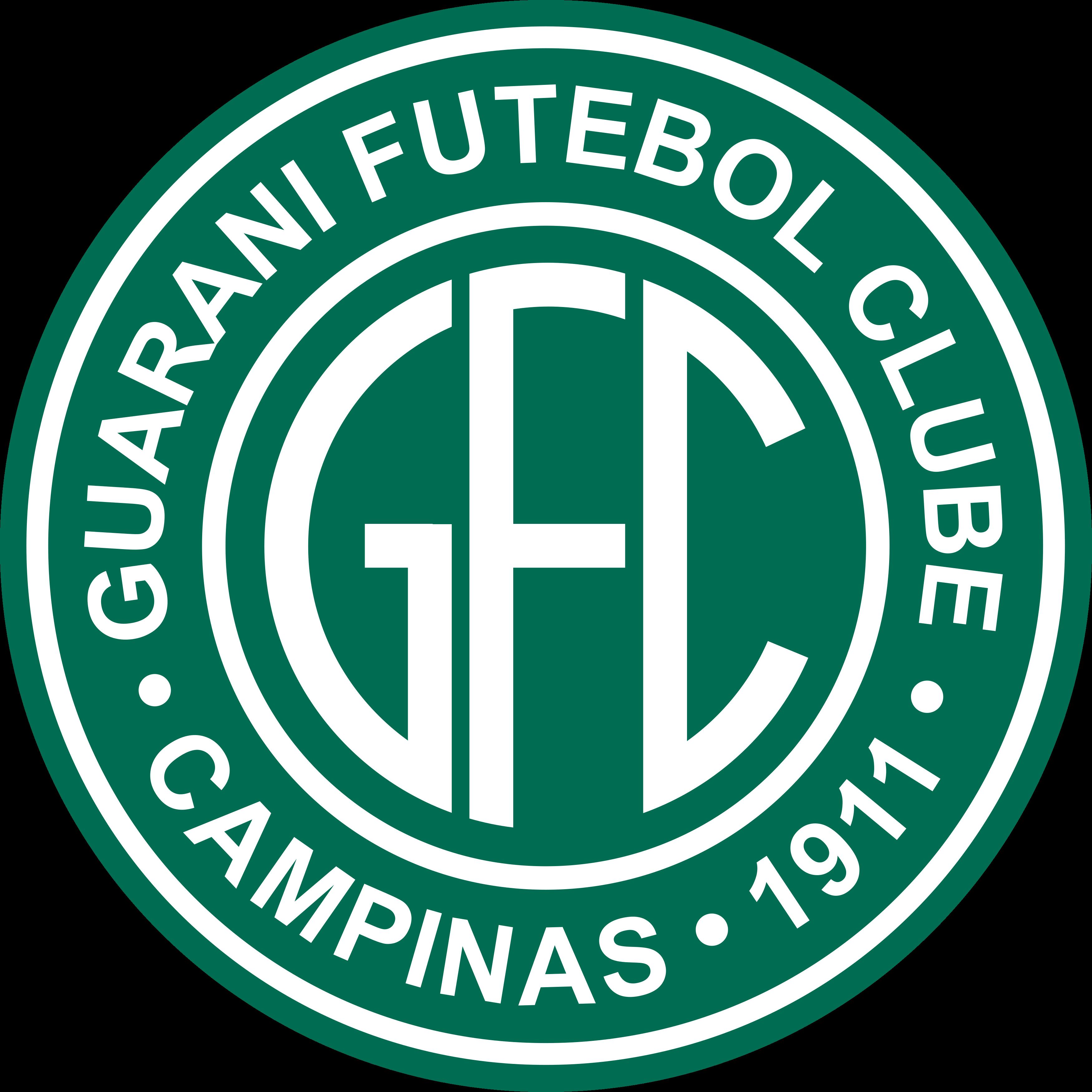 Guarani fc logo esudo 1 - Guarani FC Logo - Brasil