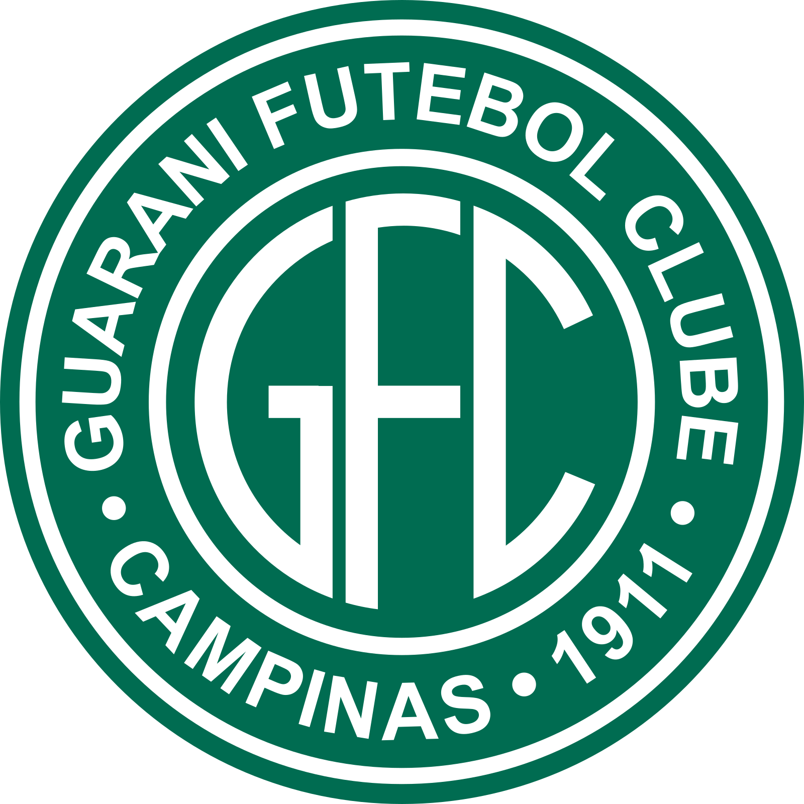 Guarani fc logo esudo 5 - Guarani FC Logo - Brasil