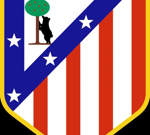 Atlético de Madrid logo, escudo, shield.